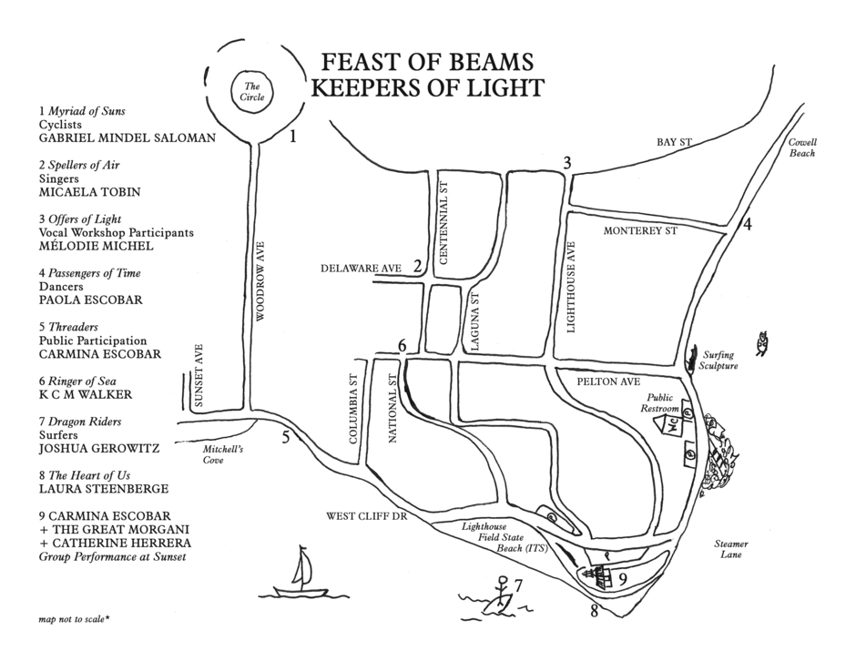Map of Feast of Beams